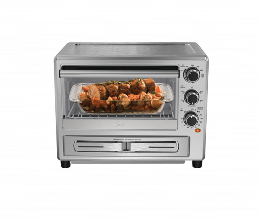 Oster-Convection-Oven-with-Dedicated-Pizza-Drawer-2