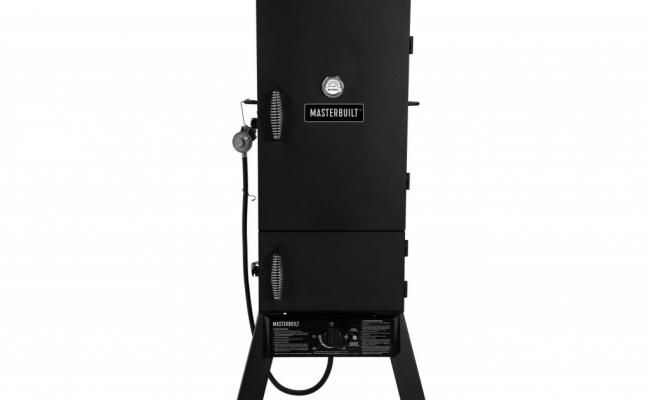 Masterbuilt-20051311-GS30D-2-Door-Propane-Smoker-1