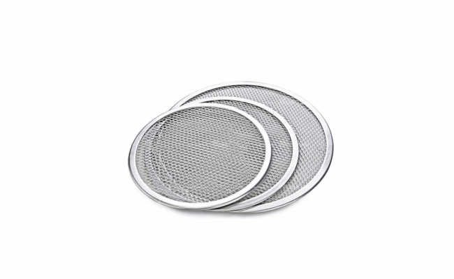 Pizza-Stone-of-1-piece-12'-Seamless-Rim-Aluminium-Pizza-Mesh-2