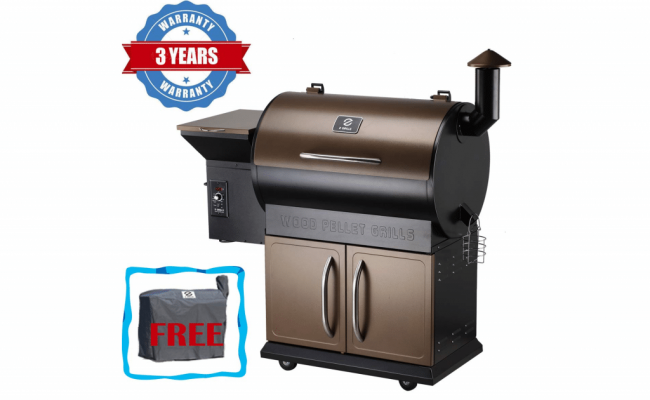 Z-Grills-Wood-Pellet-Grill-&-Smoker-with-Patio-Cover-1
